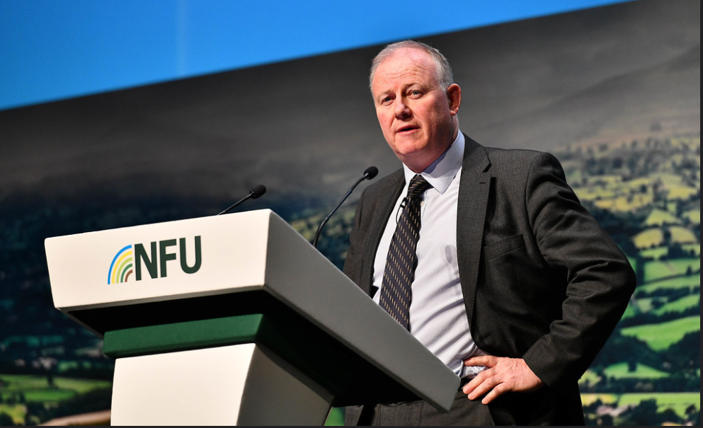 NFU CONFERENCE; FARMING WITHOUT BARRIERS #NFU20